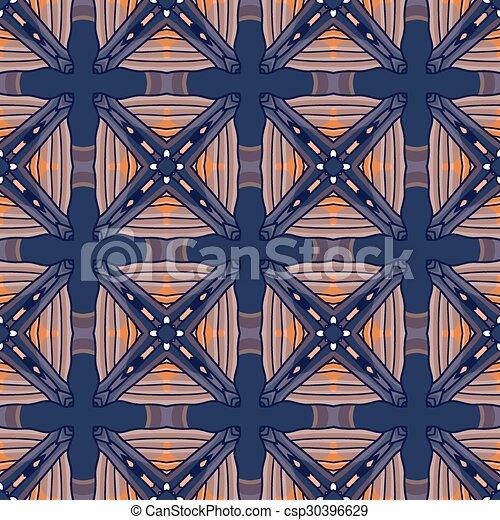 Seamless vintage flower pattern - csp30396629