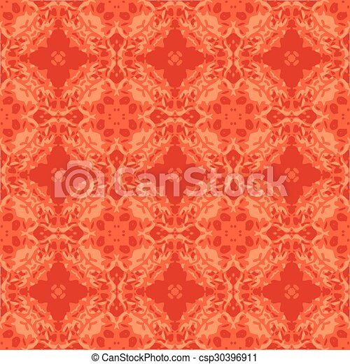 Seamless vintage flower pattern - csp30396911