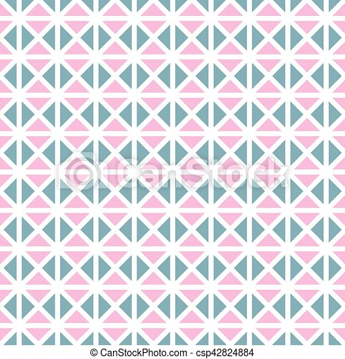 Seamless vintage geometric pattern background - csp42824884