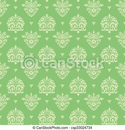 Seamless vintage pattern - csp33024734