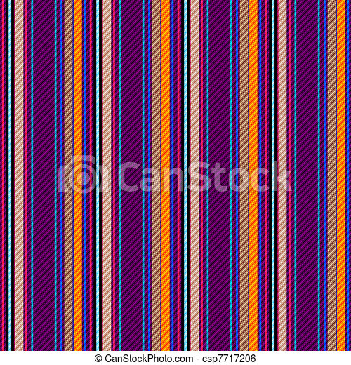 Seamless vivid striped pattern  - csp7717206
