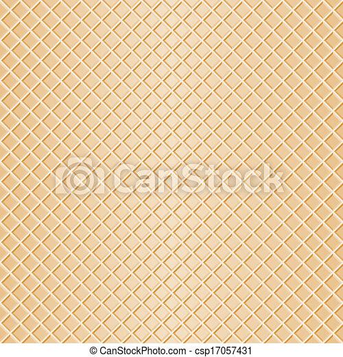 seamless waffle background - csp17057431
