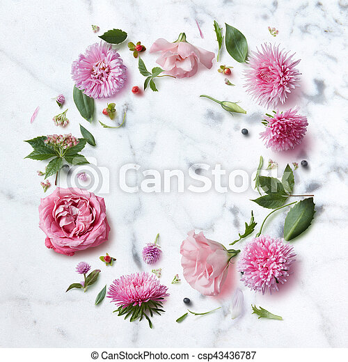 Seamless wallpaper pattern of pink flowers round frame of seamless wallpaper pattern of pink flowers csp43436787 mightylinksfo