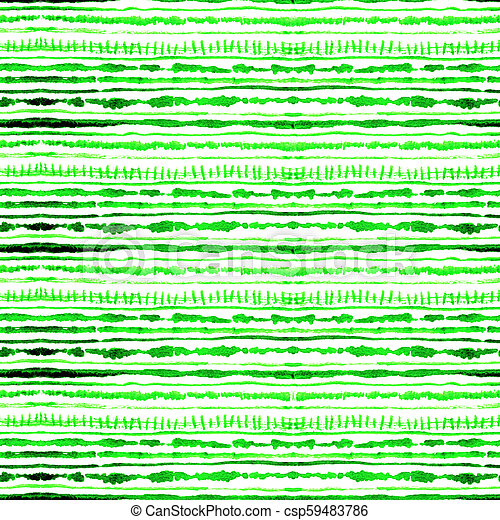 a9c473efa0fe Seamless Watercolour Shibori Tie-Dye Pattern Of Green Color On White Silk. Hand  Painting Fabrics -