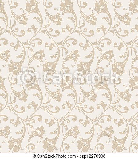 Seamless Wedding Card Background