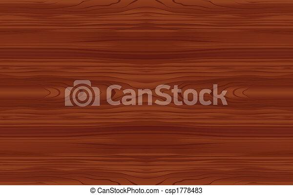 Seamless Wood Pattern - csp1778483