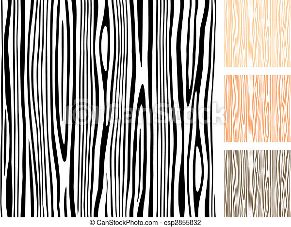 Line Art Vector Illustrator : Seamless wood texture editable pattern vector illustration