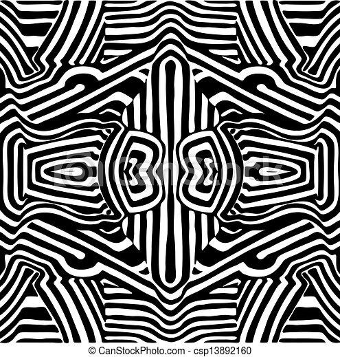 Seamless Zebra Print Background