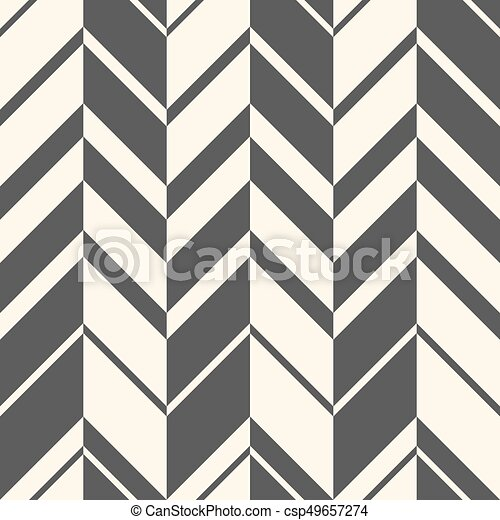 Seamless Zig Zag Pattern Abstract Black And White Background