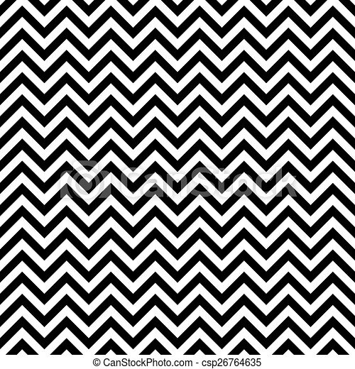 Seamless Zigzag pattern - csp26764635