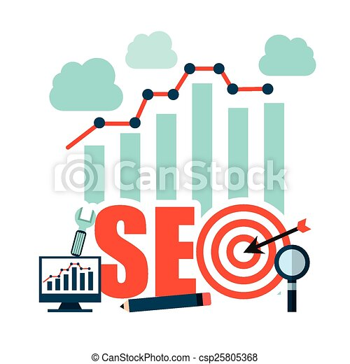 search engine optimization  - csp25805368