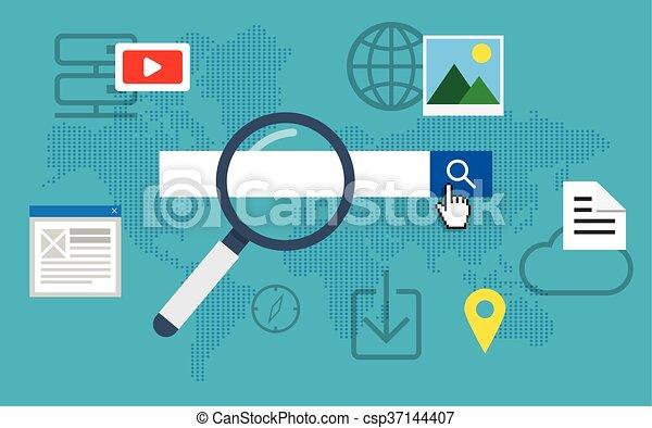 Search engine optimization. - csp37144407