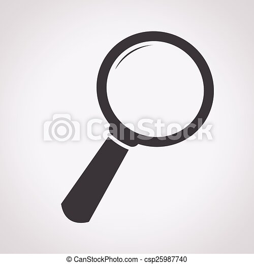 Search Icon - csp25987740