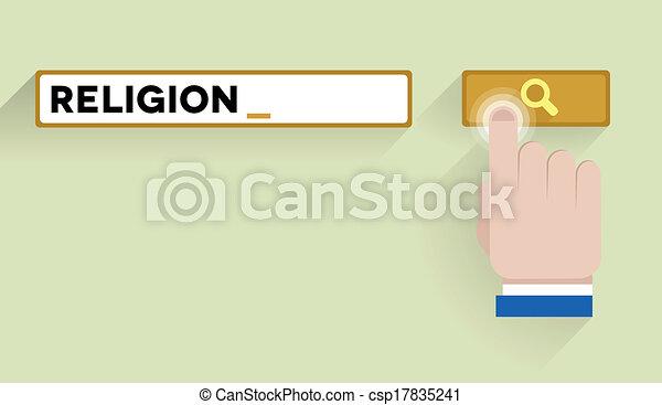 search religion - csp17835241
