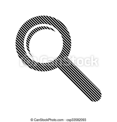 Search sign button. - csp33582093