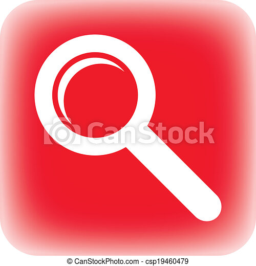 Search sign button - csp19460479