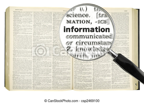 Searching for INFORMATION - csp2469100