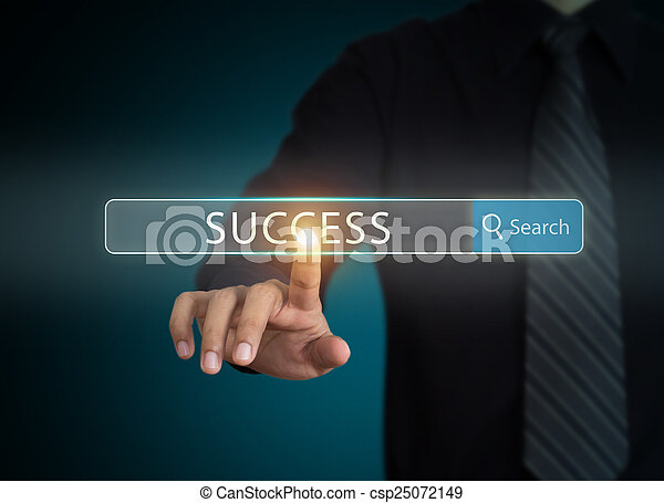 Searching success in business  - csp25072149