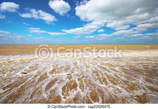 seascape., όμορφος  - csp23026475