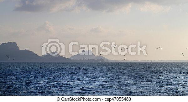 Seascape big island - csp47055480
