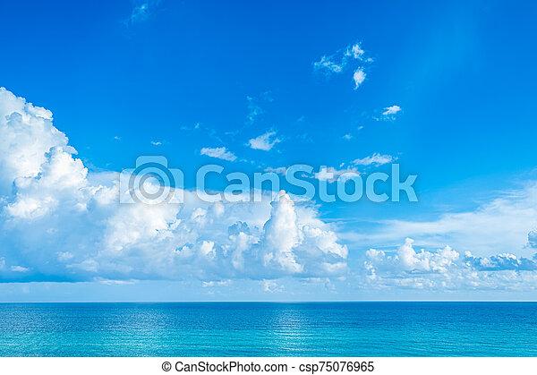 seascape., piękny - csp75076965