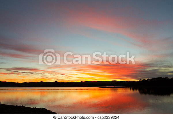 Seascape sunrise - csp2339224