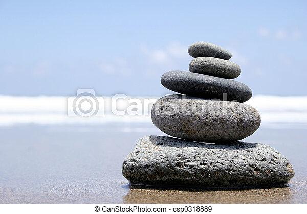 Seashore Zen - csp0318889