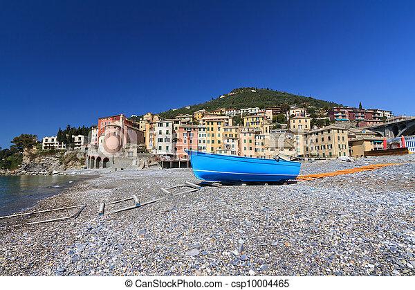 seaside in Sori, Italy - csp10004465