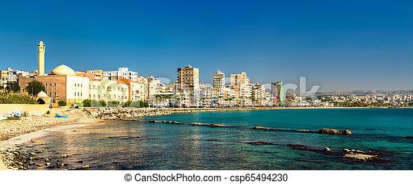 Seaside of Tyre in Lebanon - csp65494230