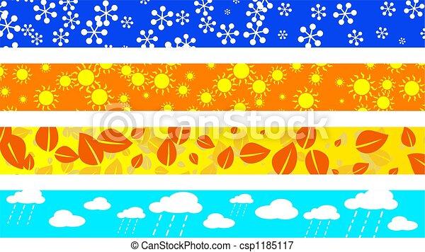 seasonal borders - csp1185117