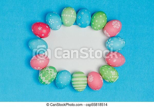 Seasonal Easter message - csp55818514