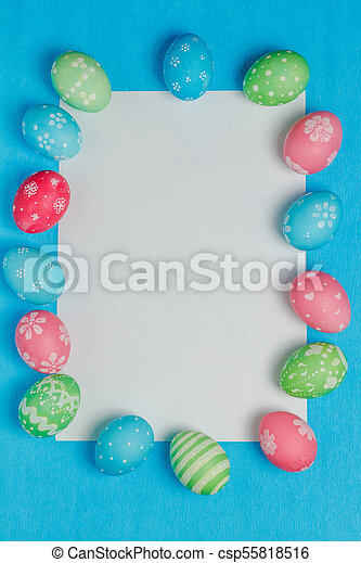 Seasonal Easter message - csp55818516