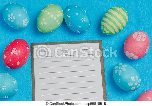 Seasonal Easter message - csp55818518