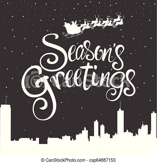 Season's Greetings - csp64887153