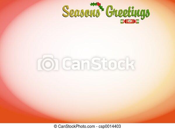Seasons Greetings - csp0014403
