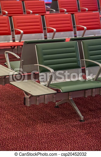 Seat at the airport - csp20452032