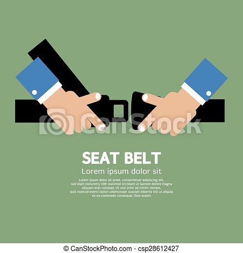 Seat Belt. - csp28612427