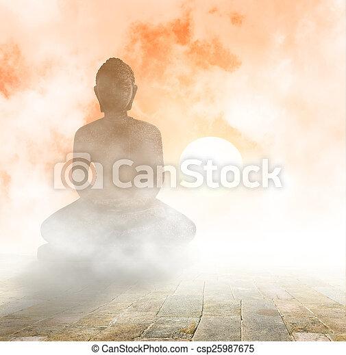 Seated Buddha - csp25987675