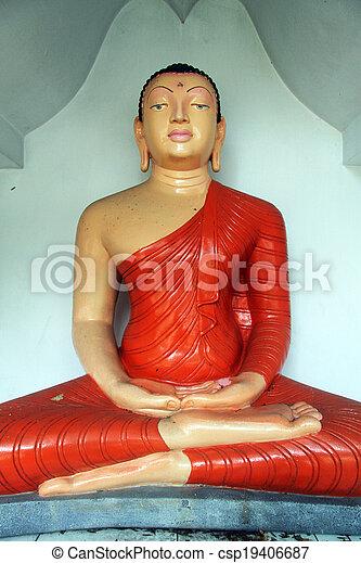 Seated Buddha - csp19406687