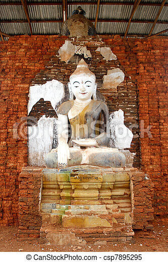 Seated Buddha - csp7895295