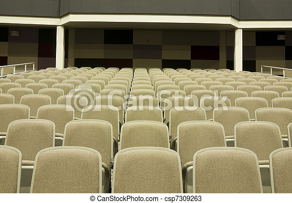 Seating at Movie Theater - csp7309263