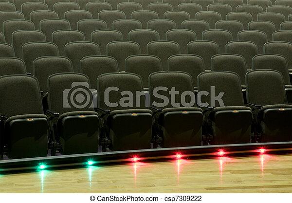 Seats at Theater - csp7309222