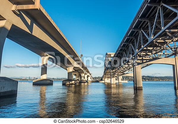 Seattle Bridge - csp32646529
