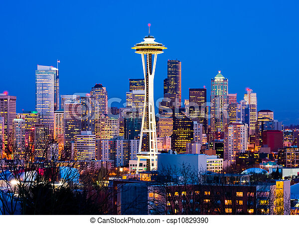 Seattle, Washington State - csp10829390