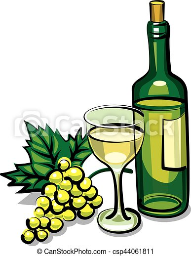sec, vin blanc - csp44061811