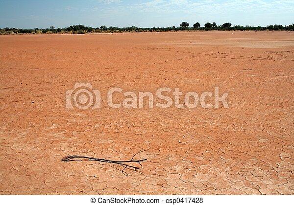 Lago seco - csp0417428