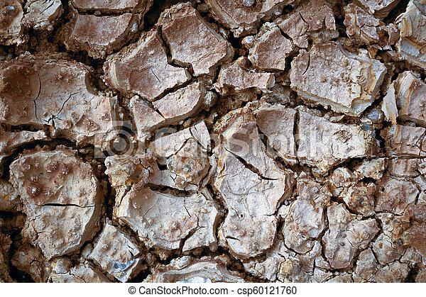 seco, tierra, water-color, efecto, sin, agrietado - csp60121760