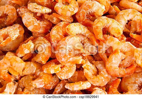 secos, camarões - csp18829941