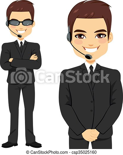 full body of secret agent bodyguard on two different pose Secret Agent Girl Clip Art secret agent clipart images