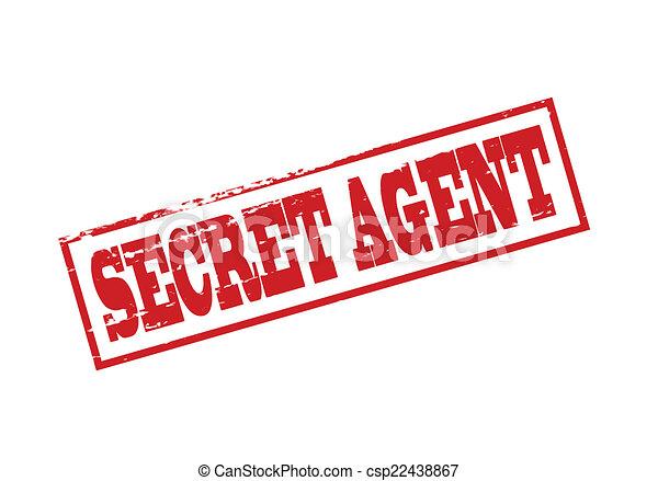 rubber stamp with text secret agent inside vector clip art rh canstockphoto com secret agent clipart black and white secret agent clip art free